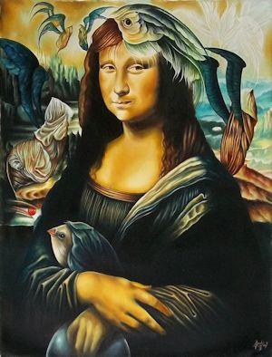 Mona Lisa by Yoandris Perez Batista